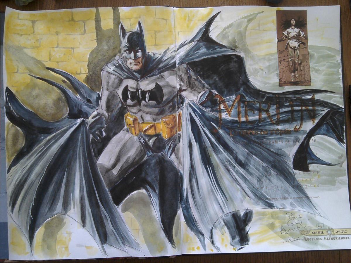 batman again by NDemare