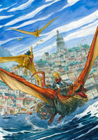 Dragon Chase by Nicolas-Demare