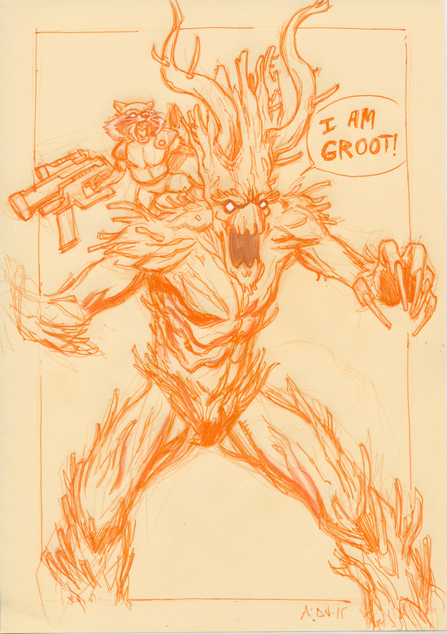 Groot Rocket by NDemare