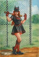 Bombshell Batwoman by Nicolas-Demare
