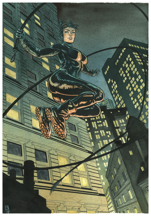 Catwoman jump by Nicolas-Demare