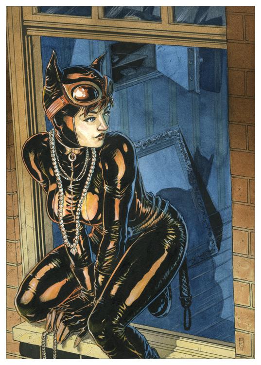 Catwoman-safe by Nicolas-Demare