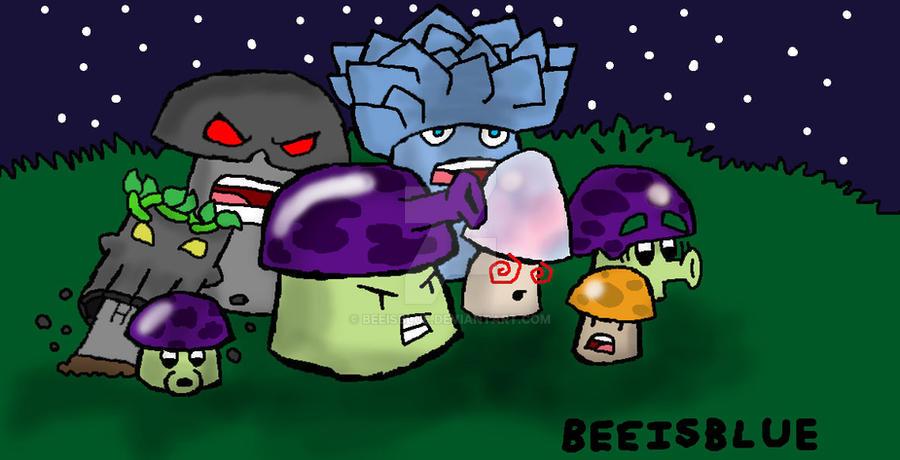plants vs zombies fanart 2 by beeisblue on deviantart