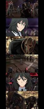 Chifuyu Orimura vs General Grievous  ( scene ) 2