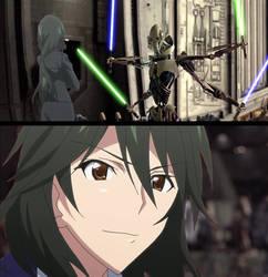 Chifuyu Orimura vs General Grievous  ( scene ) 3