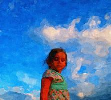 Cloud Girl 5 by malkavian30504