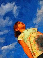 Cloud Girl 6 by malkavian30504