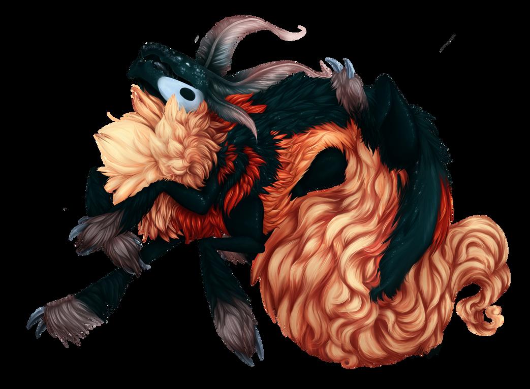 Fluff Dragon Thing by razrroth