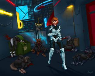City Assault by razrroth