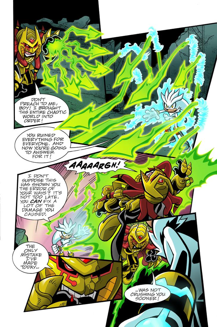 Sonic Universe #28 pg 16 Re-Color by Ziggyfin on DeviantArt