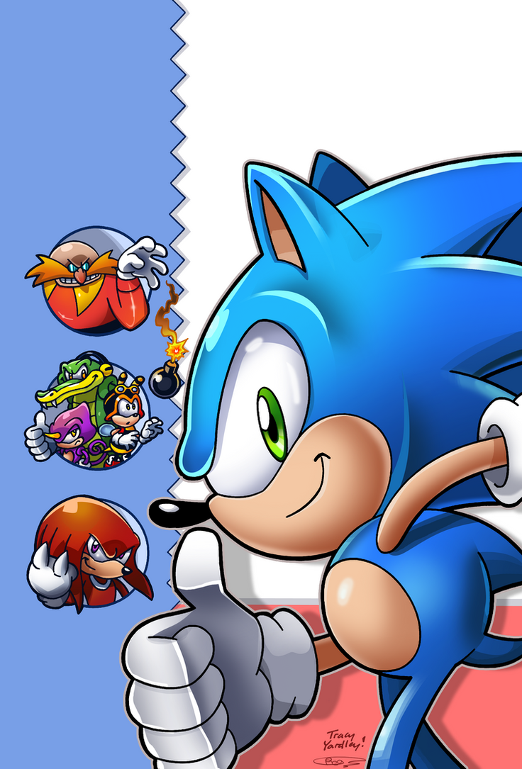 Sonic Super Digest #2 Re-Coloured by Ziggyfin