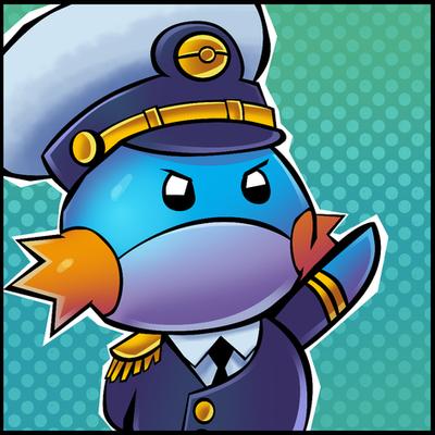 (Commission) Admiral Mudkip by Ziggyfin