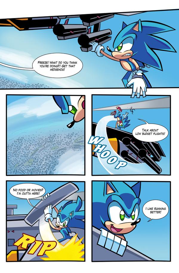 SA2 COMIC Issue 1 Page 2 by Ziggyfin