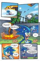 SA2 COMIC Issue 1 Page 5 by Ziggyfin