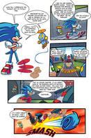 SA2 COMIC Issue 1 Page 6 by Ziggyfin