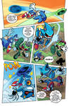 Sonic vs Scourge vs Metal (Re-Color)