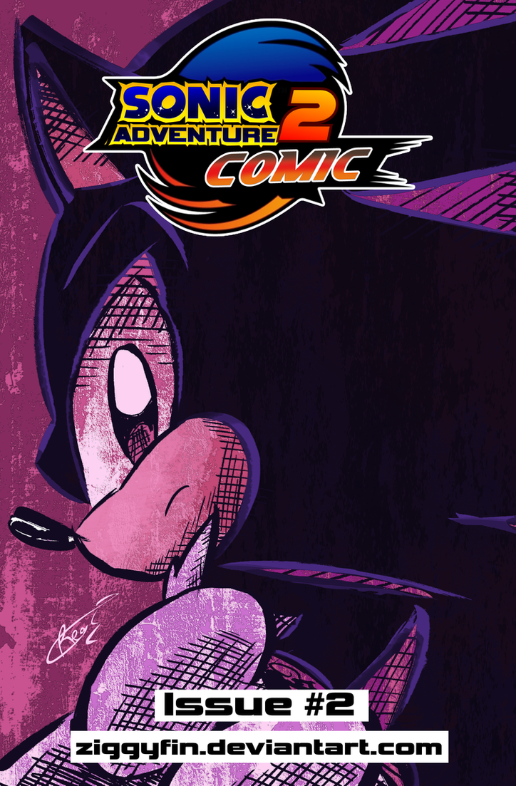 SA2 COMIC Issue 2 Cover by Ziggyfin