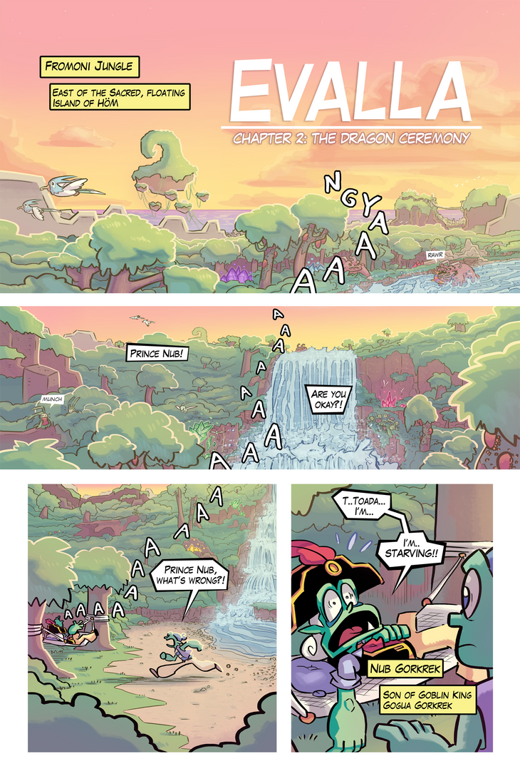EVALLA Chapter 2 Page 1 by Ziggyfin