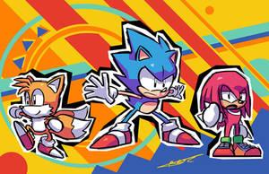Sonic Mania by Ziggyfin