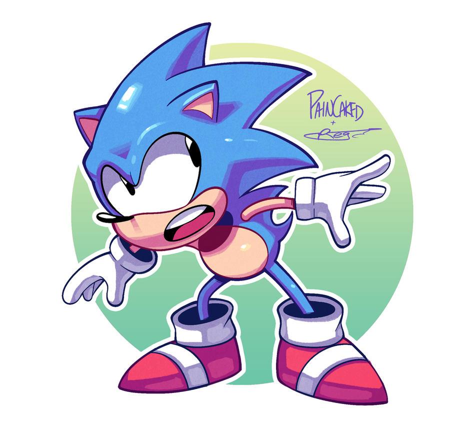 Sonic (Colours) by Ziggyfin