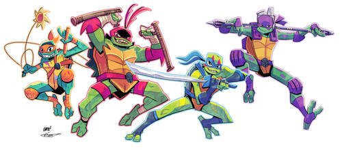 Rise of the TMNT (Colours)