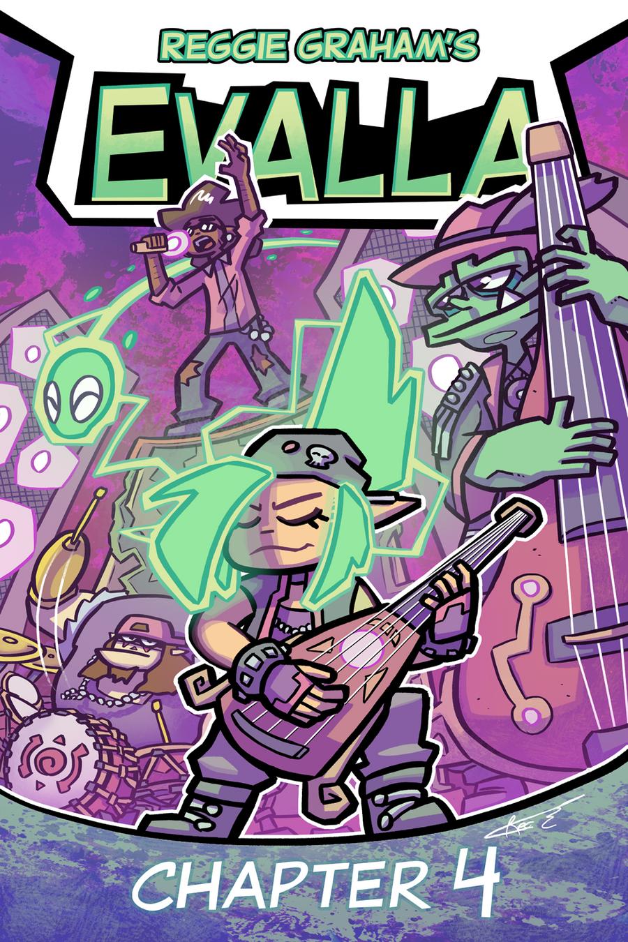EVALLA Chapter 4 Cover by Ziggyfin