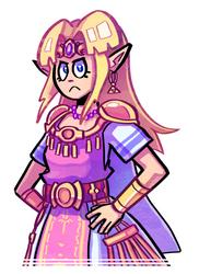 Zelda by Ziggyfin