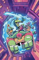 IDW Rise of the TMNT: Sound Off! #3 Colors
