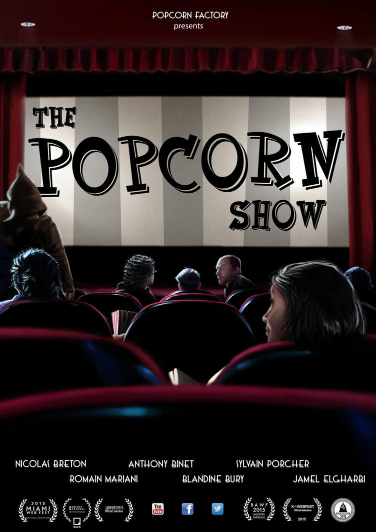 The Popcorn Show poster by wollicsee