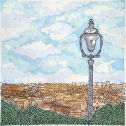 View from Sacre Coeur, Paris