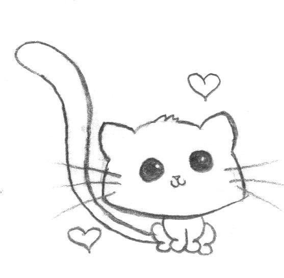 kawaii kitty loves you by wiccantitanicgrrl on deviantart