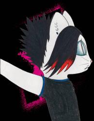 Emo kitty MySpace pic
