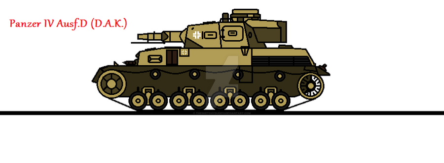 Panzer IV Ausf D (D A K ) by thesketchydude13 on DeviantArt
