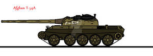 Afghan T-54A (Updated)