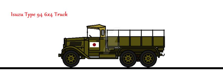 Isuzu Type 94 6x4 Truck by thesketchydude13
