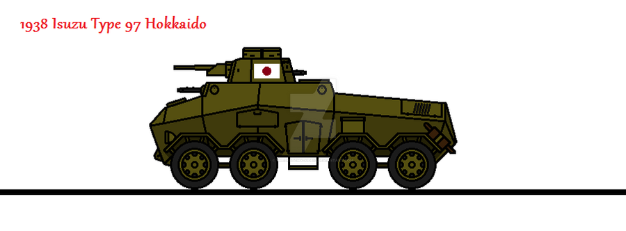 1938 Isuzu Type 97 Hokkaido by thesketchydude13