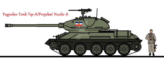 Yugoslav Tenk Tip-A/Projekat Vozilo-A