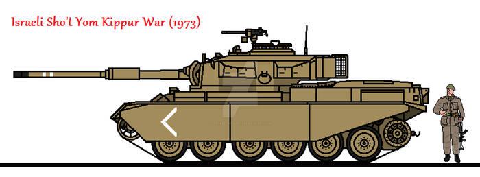 Israeli Sho't Yom Kippur War (1973)