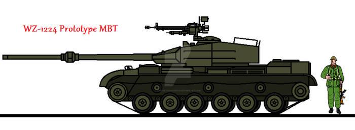 WZ-1224 Prototype MBT