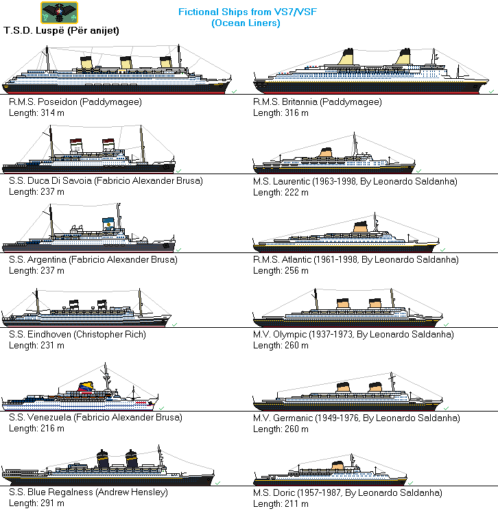 Fictional Ships from VS7/VSF (TSD Scale) by thesketchydude13