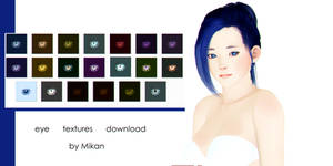 [MMD DOWNLOAD] M1M2M3 eye textures by MIKAAAN