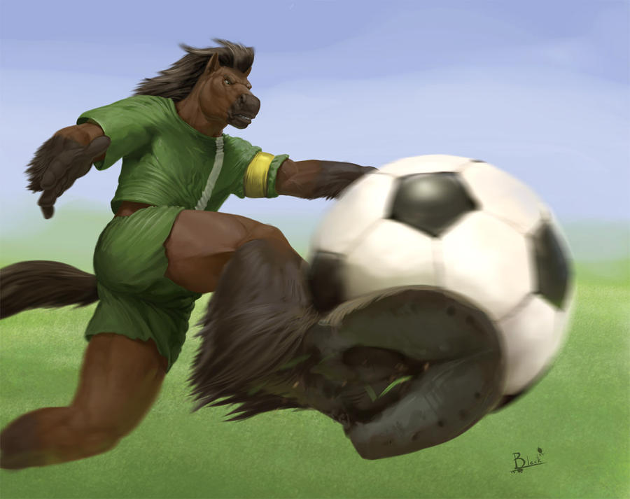 Soccer Player by lion21