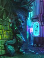 Futuristic Alley