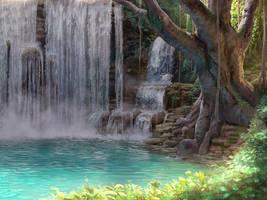 Jungle Lake by PeppeTi