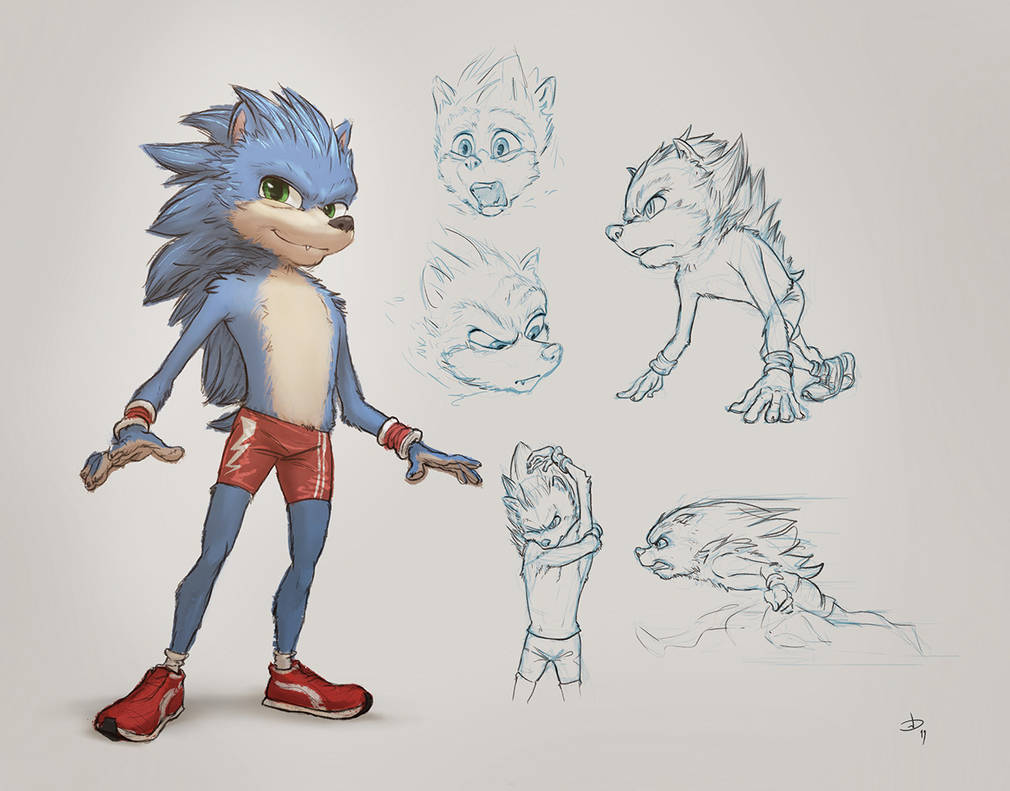 Sonic Design by PeppeTi
