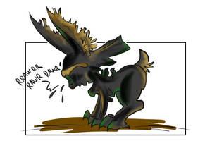 Bunny Xenomorph by Code-Shark