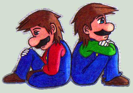 Mario and Luigi by Virmont89