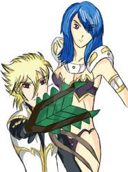 Akrash and Lirvish by Arai-X