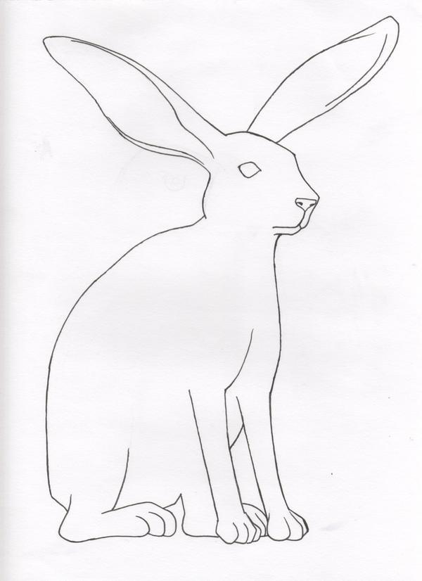 coloring book 01  jack rabbit by kouriookami on deviantart