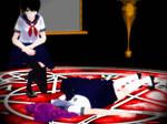 MMD- Yandere Simulator- Satanic Rituals